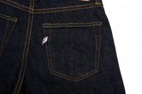 Pure Blue Japan 1143 12oz Summer Denim Jeans - Straight Tapered Indigo - Image 6