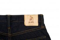 Pure Blue Japan 1143 12oz Summer Denim Jeans - Straight Tapered Indigo - Image 7
