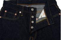 Pure Blue Japan 1143 12oz Summer Denim Jeans - Straight Tapered Indigo - Image 9