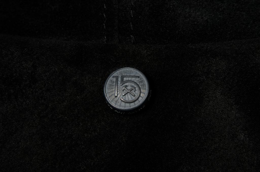 3sixteen x Schott Waxed Roughout Cowhide Jacket - Image 11