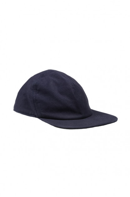 Papa Nui Bird Farm Cap - Wool Lined Navy