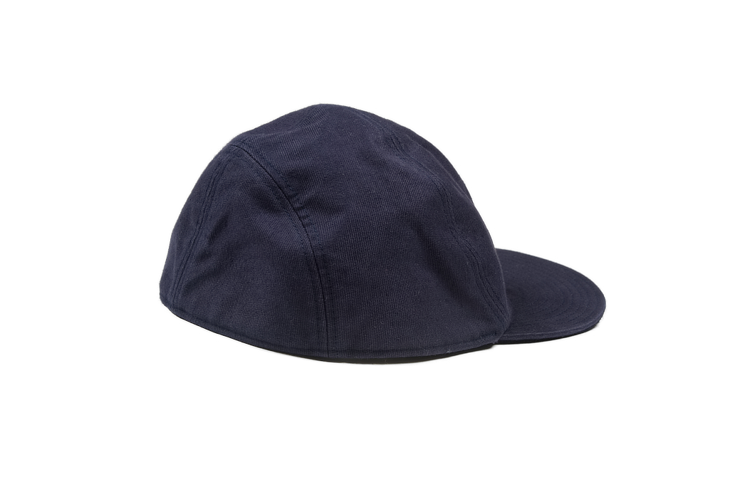 Papa Nui Bird Farm Cap - Wool Lined Navy - Image 1