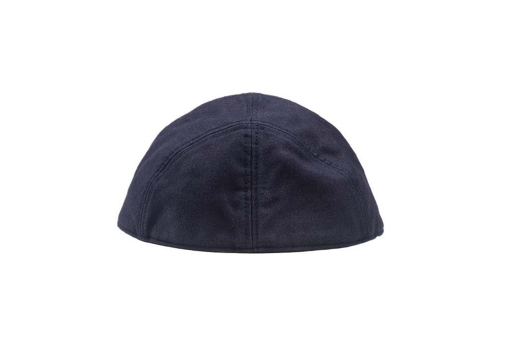 Papa Nui Bird Farm Cap - Wool Lined Navy - Image 2