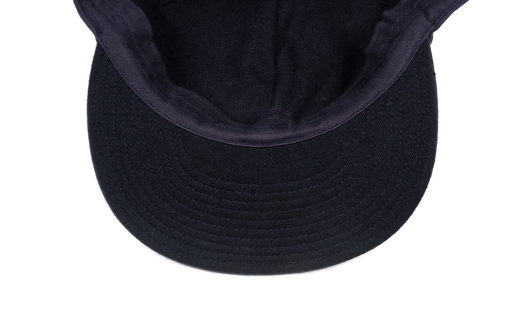 Papa Nui Bird Farm Cap - Wool Lined Navy - Image 4