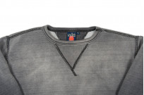 Studio D'Artisan Loopwheeled Crewneck Sweater - Aged Black - Image 3