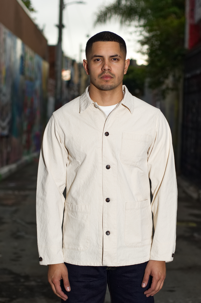 Seuvas No. 11 Canvas Coverall Jacket - Image 0
