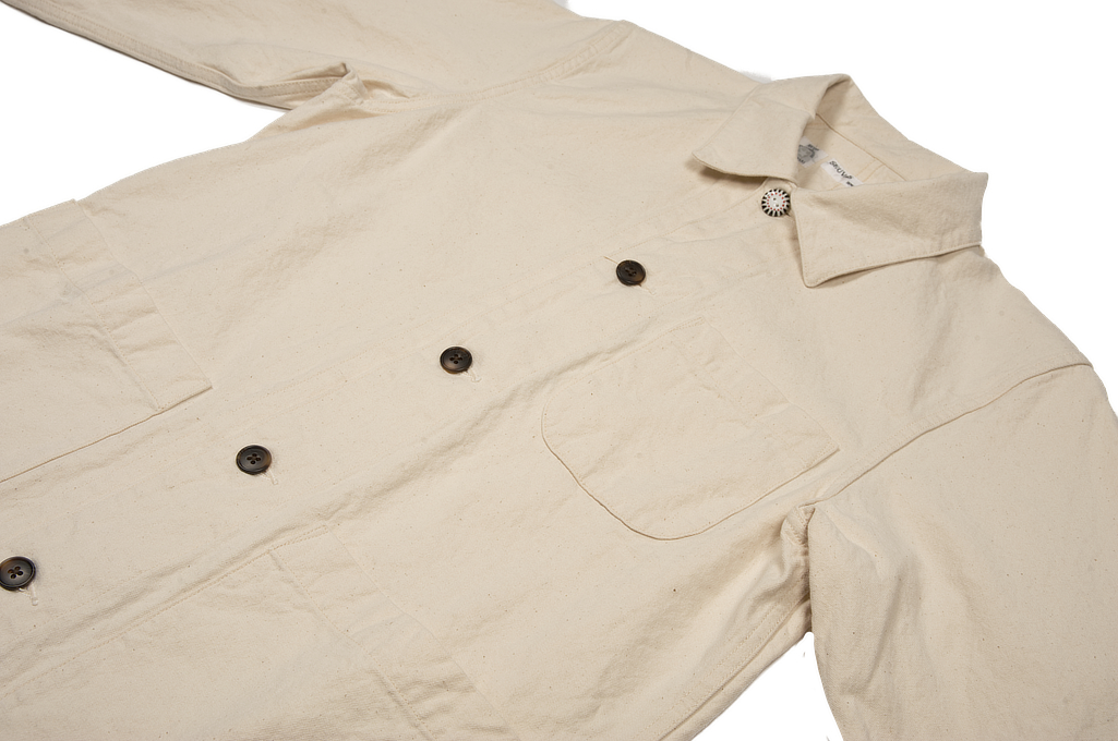 Seuvas No. 11 Canvas Coverall Jacket - Image 5