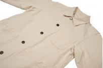 Seuvas No. 11 Canvas Coverall Jacket - Natural - Image 5