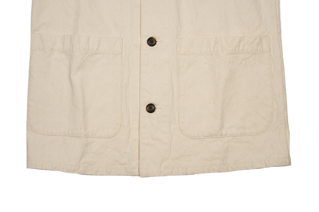 Seuvas No. 11 Canvas Coverall Jacket - Image 6
