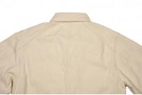 Seuvas No. 11 Canvas Coverall Jacket - Natural - Image 8