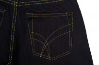 Strike Gold 5004 15.5oz Denim Jeans - Double Indigo Straight Tapered - Image 6