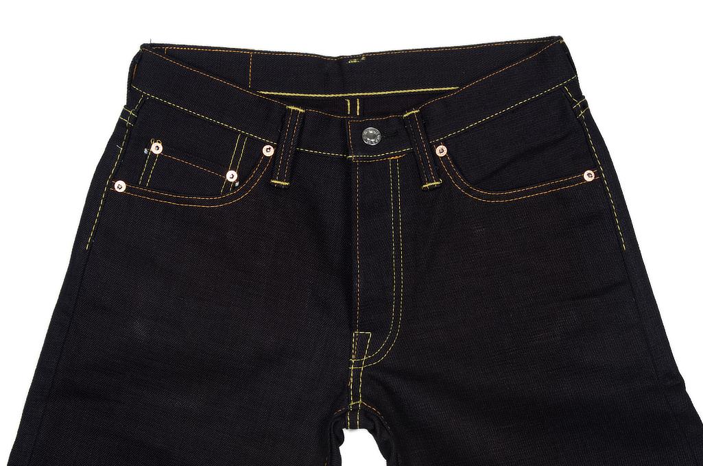 Strike Gold 5009 15.5oz Denim Jeans - Double Indigo Slim Tapered - Image 3