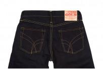 Strike Gold 5009 15.5oz Denim Jeans - Double Indigo Slim Tapered - Image 5