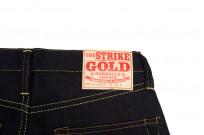 Strike Gold 5009 15.5oz Denim Jeans - Double Indigo Slim Tapered - Image 7