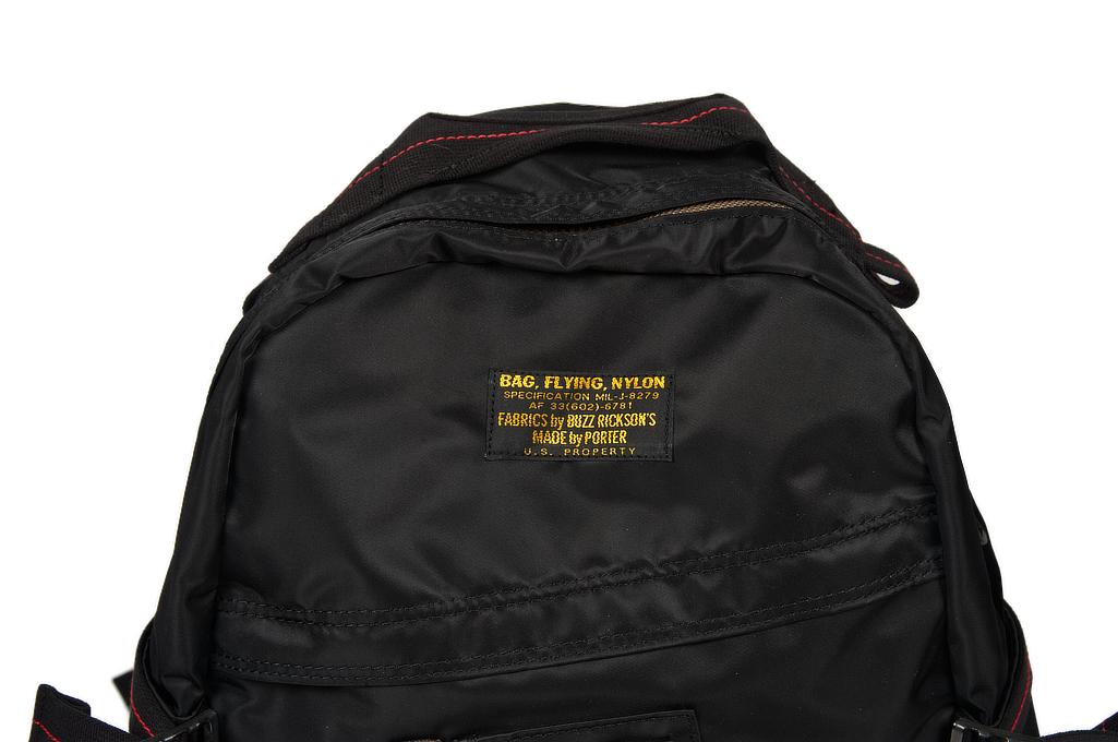 Buzz Rickson x Porter Backpack - Black - Image 1