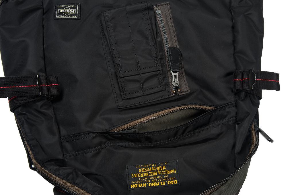 Buzz Rickson x Porter Backpack - Black - Image 10