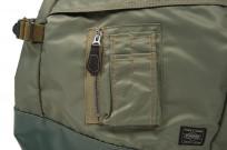 Buzz Rickson x Porter Backpack - Sage Green - Image 3