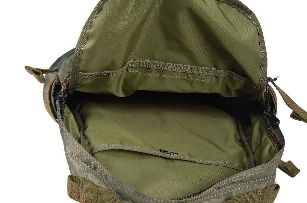 Buzz Rickson x Porter Backpack - Sage Green - Image 6