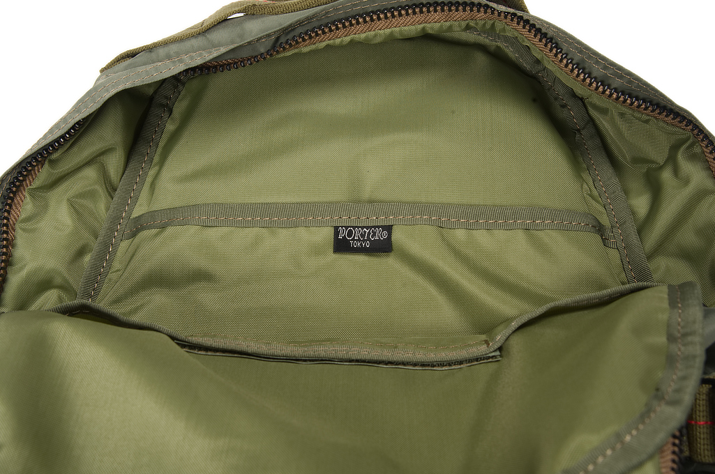 Buzz Rickson x Porter Backpack - Sage Green - Image 7