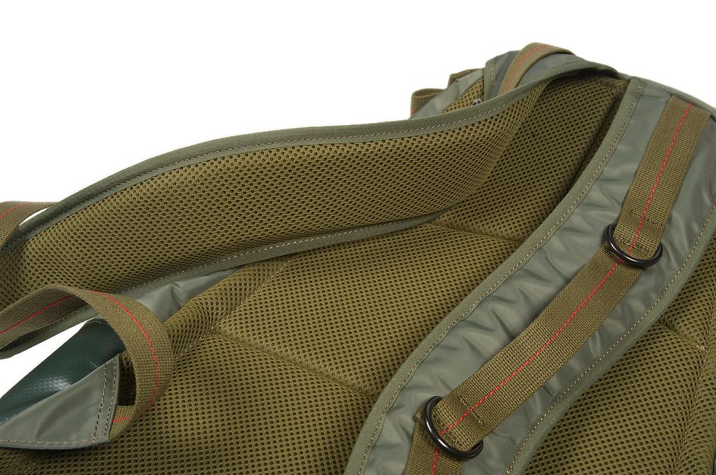 Buzz Rickson x Porter Backpack - Sage Green - Image 9