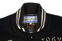 Whitesville x Tailor Toyo Leather & Wool Souvenir/Varsity Jacket - Image 4