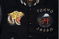Whitesville x Tailor Toyo Leather & Wool Souvenir/Varsity Jacket - Image 5