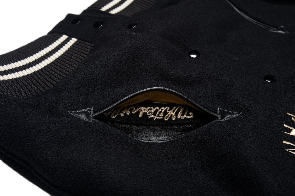 Whitesville x Tailor Toyo Leather & Wool Souvenir/Varsity Jacket - Image 6