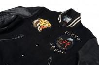 Whitesville x Tailor Toyo Leather & Wool Souvenir/Varsity Jacket - Image 7