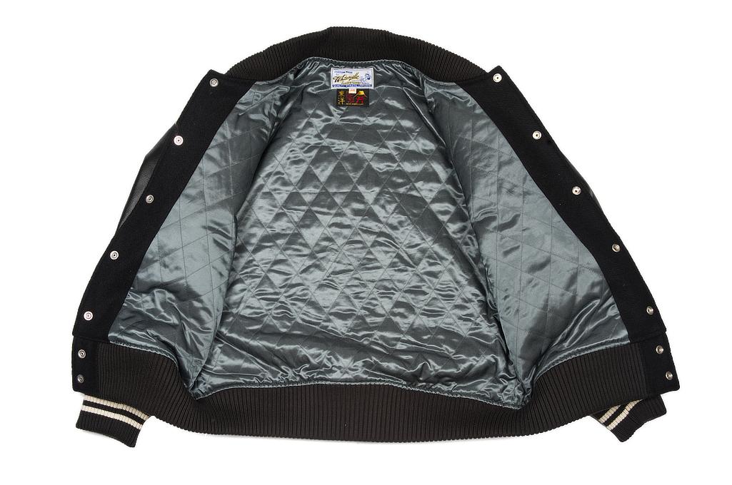 Whitesville x Tailor Toyo Leather & Wool Souvenir/Varsity Jacket - Image 8