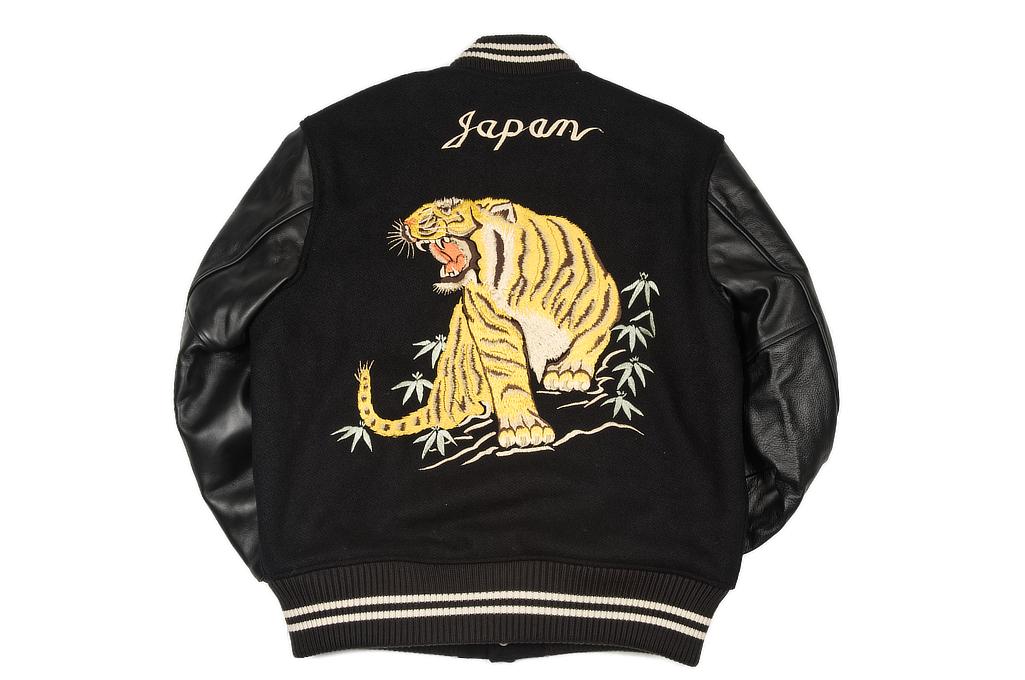 Whitesville x Tailor Toyo Leather & Wool Souvenir/Varsity Jacket - Image 9