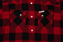 Flat Head Animal Face Winter Flannel - Black/Red Snap - Image 5