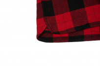 Flat Head Animal Face Winter Flannel - Black/Red Snap - Image 7