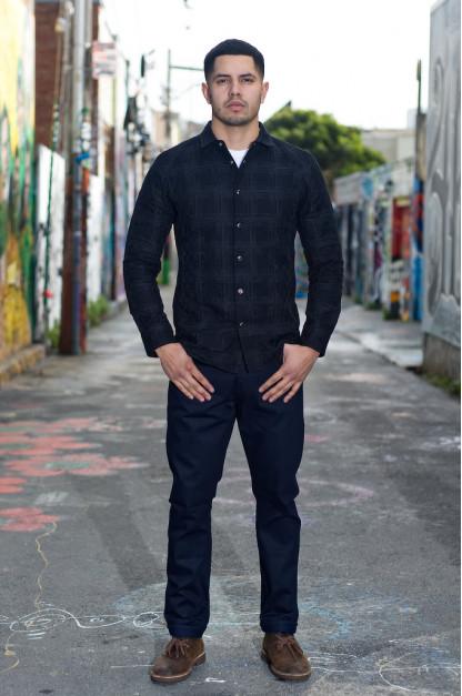 Stevenson 210 Big Sur Jeans - Slim Tapered Indigo/Indigo