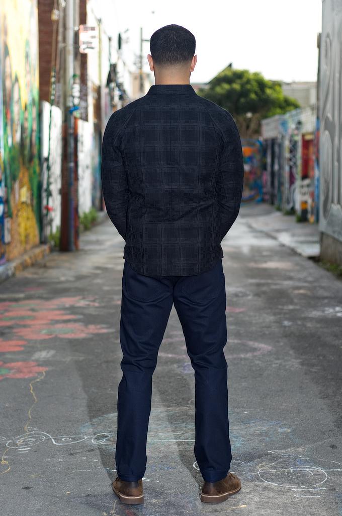 Stevenson 210 Big Sur Jeans - Slim Tapered Indigo/Indigo - Image 1