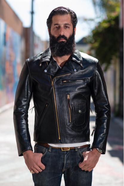 Flat Head Delraiser Horsehide Jacket