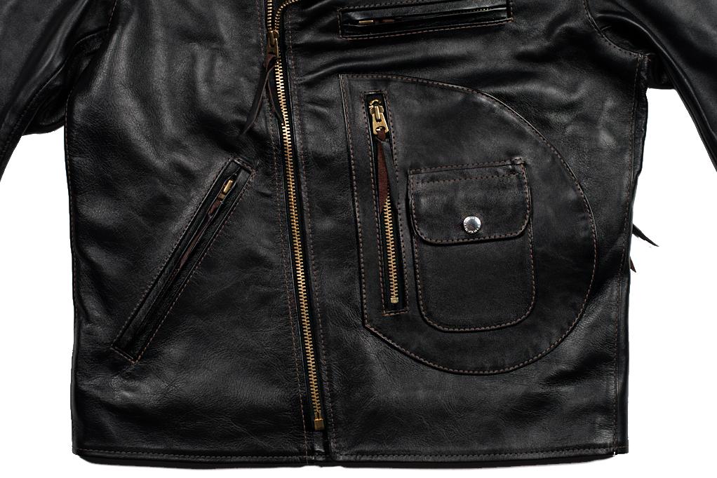 Flat Head Delraiser Horsehide Jacket - Image 5