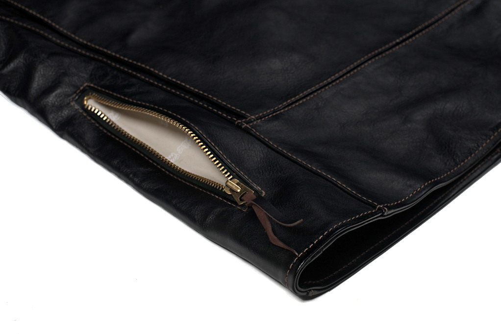 Flat Head Delraiser Horsehide Jacket - Image 7