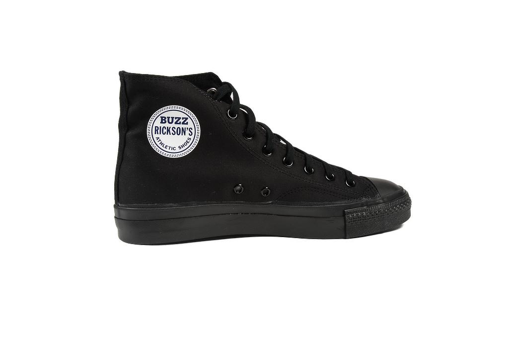 Buzz Rickson Ventile Water Resistant Sneakers - Black - Image 5