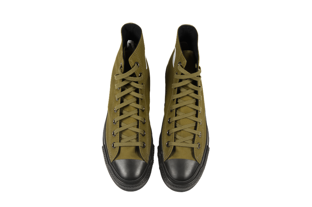 Buzz Rickson Ventile Water Resistant Sneakers - Olive - Image 1