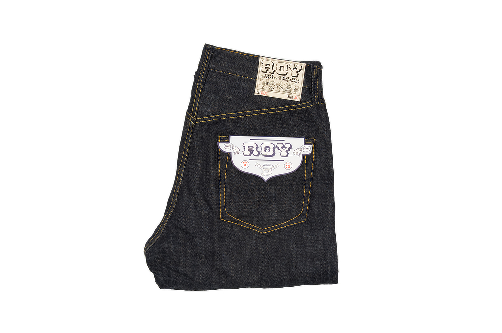 9cdc55fd2c0 Roy for Self Edge R01 Jeans - Classic Straight Tapered