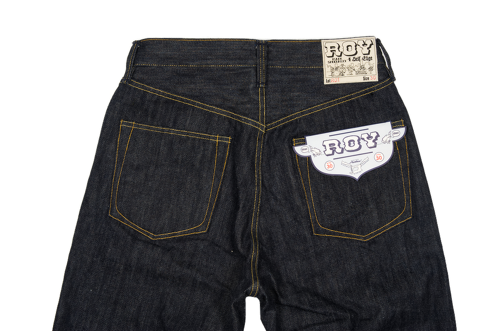 Roy for Self Edge R01 Jeans - Classic Straight Tapered - Image 6