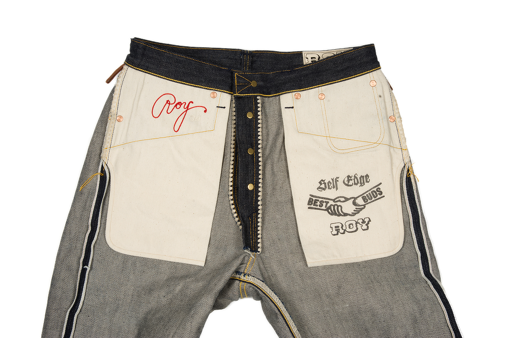 Roy for Self Edge R01 Jeans - Classic Straight Tapered - Image 10