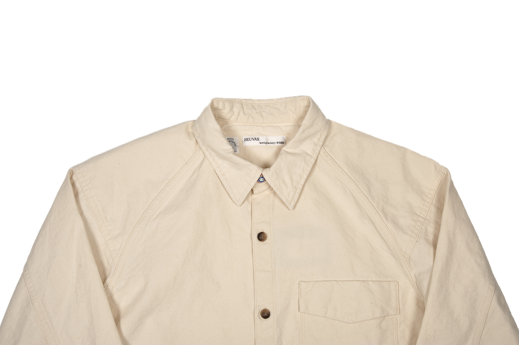 Seuvas 79A Canvas Farmer's Shirt - Image 3
