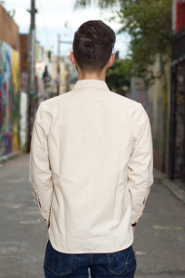 Seuvas 79A Canvas Workshirt - Natural - Image 1