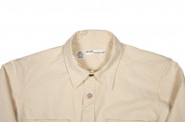 Seuvas 79A Canvas Workshirt - Natural - Image 3