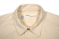 Seuvas 79A Canvas Workshirt - Natural - Image 4