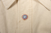 Seuvas 79A Canvas Workshirt - Natural - Image 7