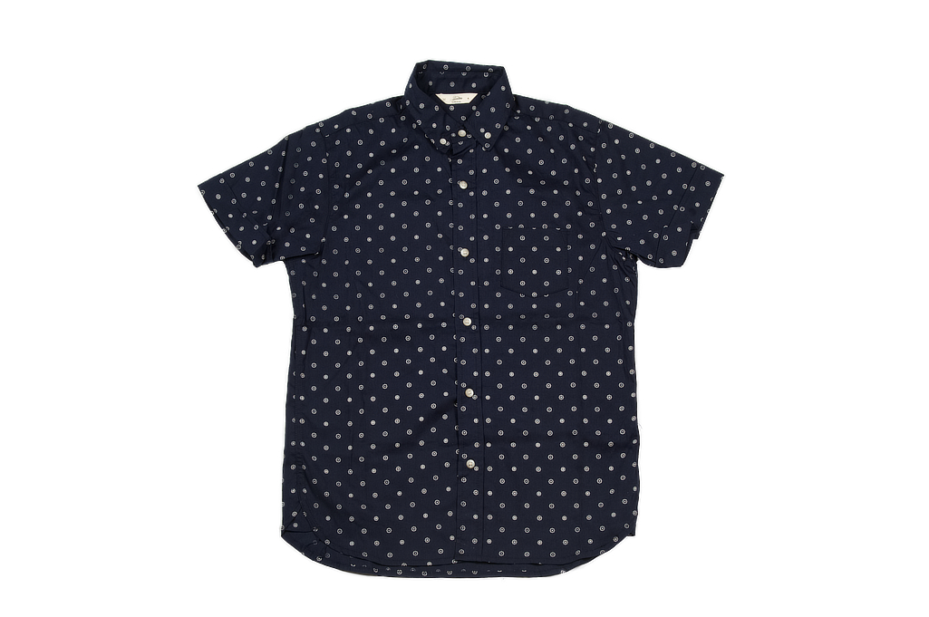 3sixteen Short Sleeve Button Down Shirt - Navy Floral - Image 2
