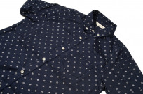 3sixteen Short Sleeve Button Down Shirt - Navy Floral - Image 4