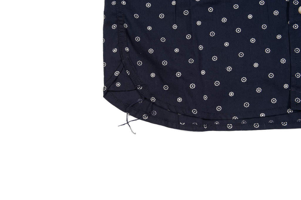 3sixteen Short Sleeve Button Down Shirt - Navy Floral - Image 5